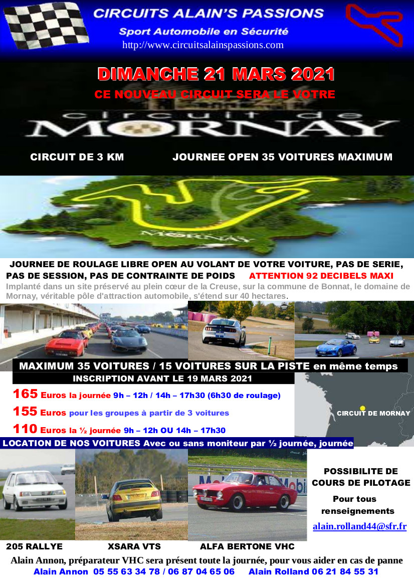 FLYER MORNAY DIMANCHE 21 MARS 2021